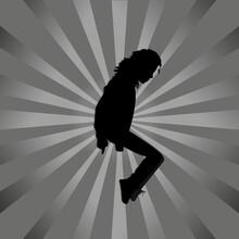 Dancer Michael Jackson
