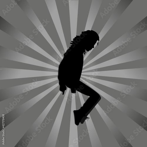 Fotomural Dancer Michael Jackson