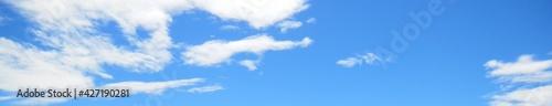 Fototapeta 爽やかな青空と白い雲 obraz