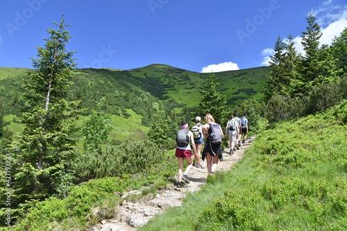Tatry Zachodnie, Tatrzański Park Narodowy, szlaki turystyczne, góry w Polsce,