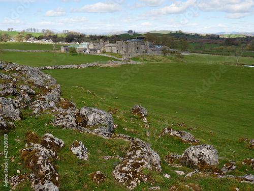 Beetham Hall, Cumbria. Fototapeta