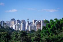 Vista Parcial, Cidade De Uberlândia Minas Gerais, Brasil