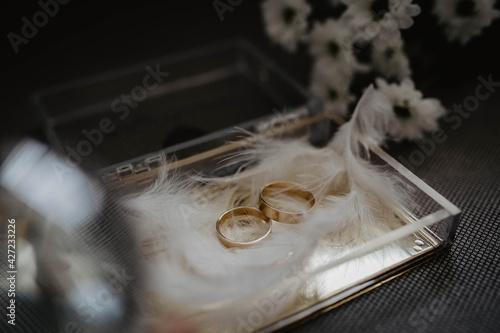 Obraz Obrączki, ślub, wesele - fototapety do salonu