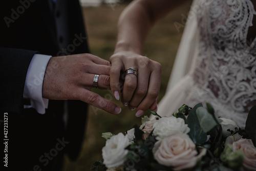 Fototapeta Obrączki, ślub, wesele obraz