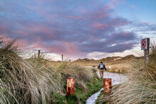Kiltoorish Bay Beach Between Ardara And Portnoo In Donegal - Ireland.
