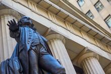 Federal Hall, George Washington Statue,george Washington,statue,art,manhattan,new York,city,urban,nyc,usa,art,building,