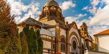 Novi Sad Synagogue In Serbia