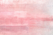 Pink Abstract Painting Background