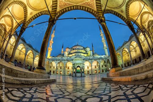 Fotografie, Obraz Blue Mosque, Sultan Ahmed Mosque (Sultan Ahmet Camii), Istanbul, Turkey