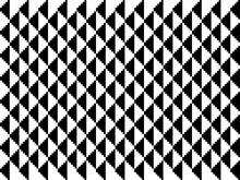Patrón De Triángulos  Blancos Y Negros Alternados En Filas Verticales