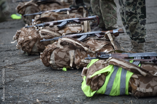 Fotografie, Obraz Special forces military training