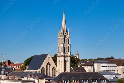 Fototapeta Chapel of Mercy in Caen