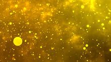 金色のキラキラ玉ボケ抽象幾何学背景