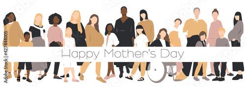 Obraz na plátně Happy Mother's Day card