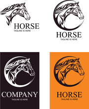 Horse Head Image, Graphic Image For Logo, Trademark, Brand
