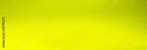 Fototapeta Yellow gradient banner. Vector illustration. obraz