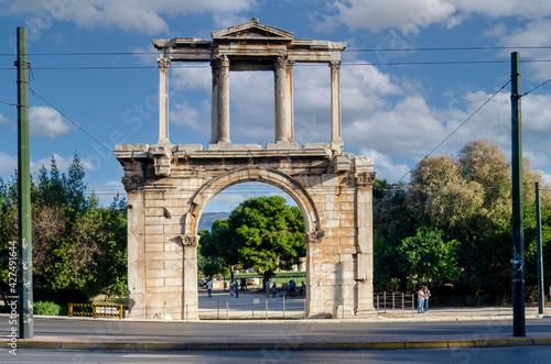 Obraz na plátně Athens, Attica, Greece