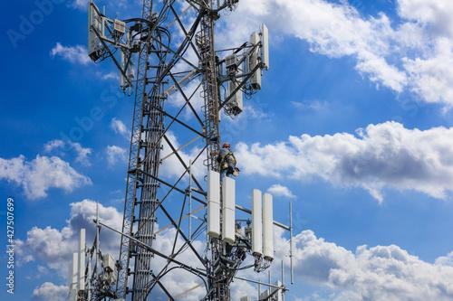 Foto Telecom maintenance
