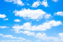 穏やかな青空