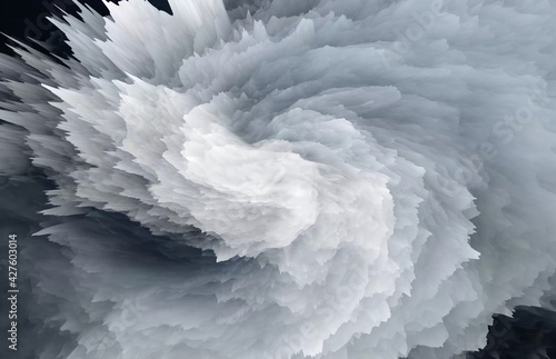 Photo Abstract explosion advertising background