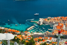 The View Of The Historic Old Town In Dubrovnik, Croatia