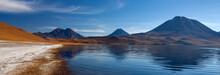Miscanti Lagoon High On The Altiplano - Atacama Desert - Chile