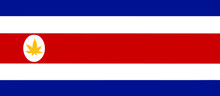 Costa Rica Legalize Flag