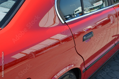 Obraz autodetailing , autodeteiling ,deteiling ,detailing , polerowanie auta , polerowanie samochodu , ceramika auta ,autoceramika , lakier szkło  , woskowanie karoserii , nabłyszczanie auta , lakier poler  - fototapety do salonu