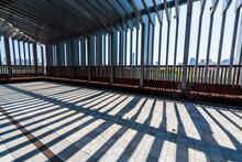 Sunlight Falling On Floor In Building