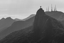 View Of Church Against Mountain Range
