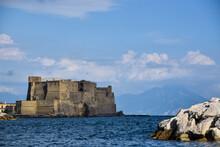 Castel Dell Ovo In Naples, Italy.