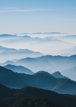 Sunrise In Uttarakhand India From Top Of Mount Chandrashila