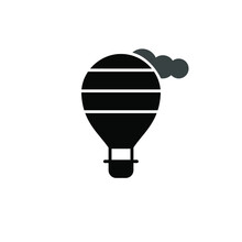 Illustration Vector Graphic Of Air Balloon Icon