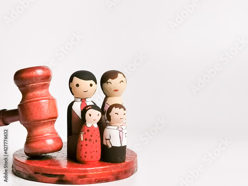 Fotografie, Obraz Family law concept