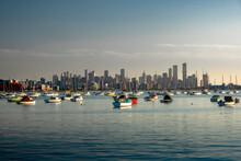Scenic View Of Williamstown City, Melbourne Australia