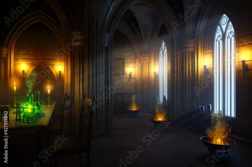Fototapeta Gothic Laboratory obraz