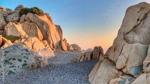Obraz Rock Formations At Sunset - fototapety do salonu