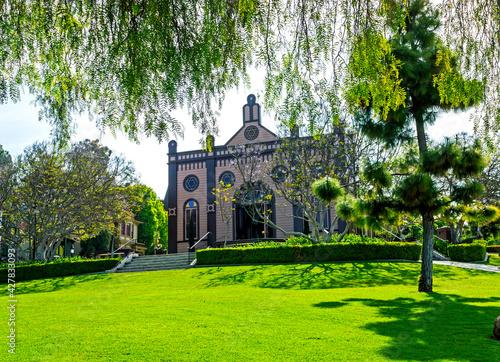 Canvas-taulu Jewish synagogue in San Diego, California,United States of America