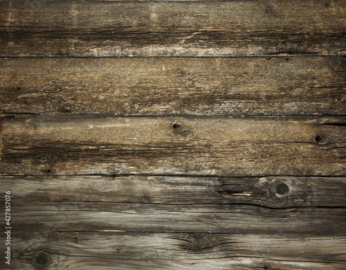 Photographie Wooden old background. old shabby tree with scratches