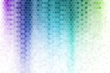 Gradient Hexagonal Background_4
