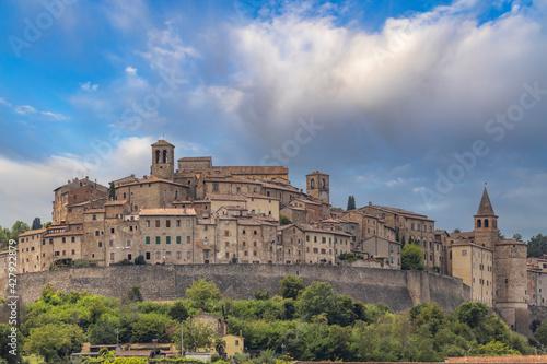 Anghiari medieval village, Arezzo, Tuscany, Italy