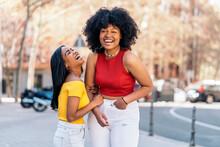 Cheerful African Friends Portrait