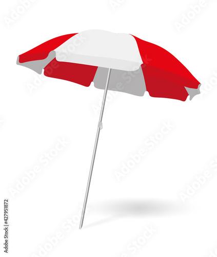 Canvas-taulu Parasol plage 2