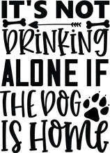 Typography Lettering With Black Letters Isolated On White Background. Modern Vector Design, Dog And Cats Lover Quote.