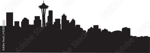 Seattle Skyline - fototapety na wymiar