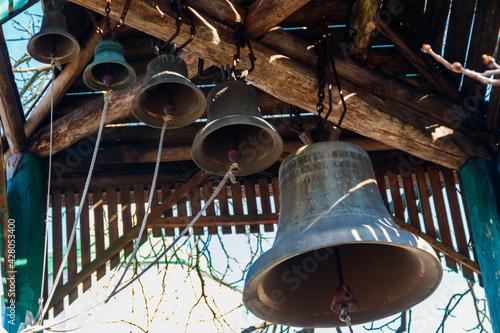 Papel de parede Close-up of orthodox church bells