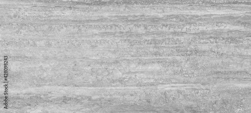 Fotografie, Obraz travertine marble texture background, natural grey breccia marbel for wall and floor with high resolution, gray quartzite granite limestone ceramic tile slab, rustic matt italian emperador travertino