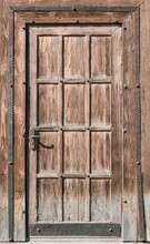 Old Wooden Door As A Background.