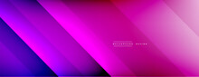 Dynamic Lines Abstract Background. 3D Shadow Effects And Fluid Gradients. Modern Overlapping Forms
