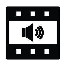 Audio Song Isolated Vector Icon Which Can Easily Modify Or Edit